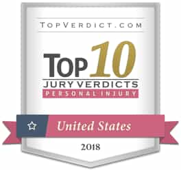 Top 10 Jury Verdicts for Personal Injury in the U.S., 2018