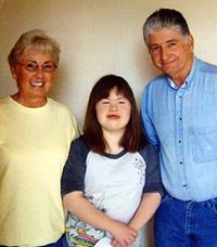 Darlene and Dan Grubb with granddaughter, Tiffany