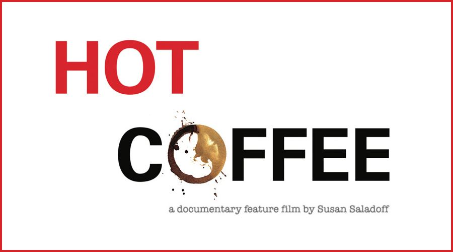 Hot Coffee Documentary logo