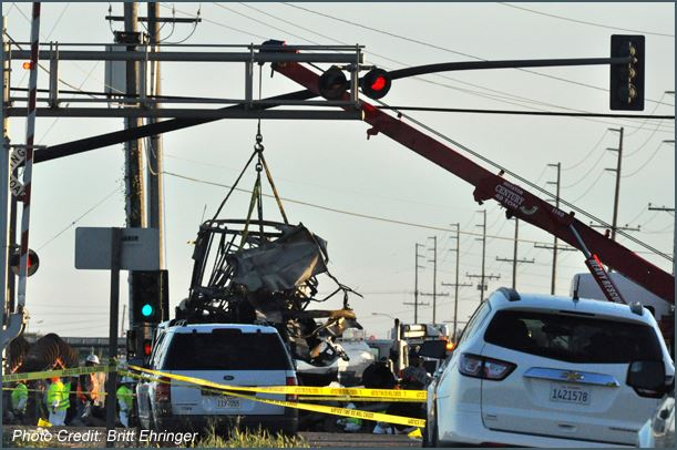 Oxnard Metrolink accident scene