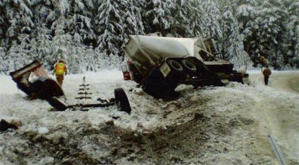 Food Express. Inc., commercial truck accident in snow