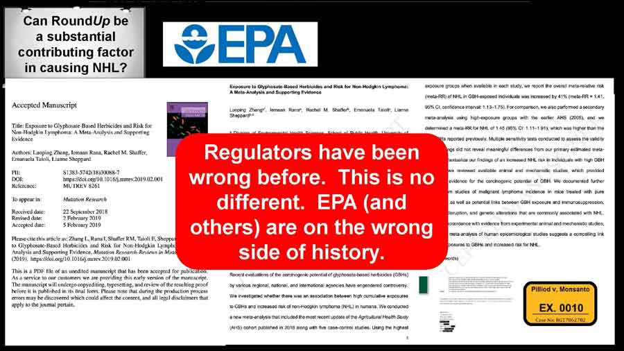 Regulators have been wrong before. This is no different. EPA (and others) are on the wrong side of history.