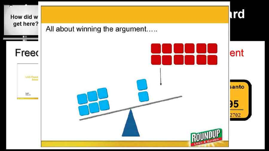 All about winning the argument graphic